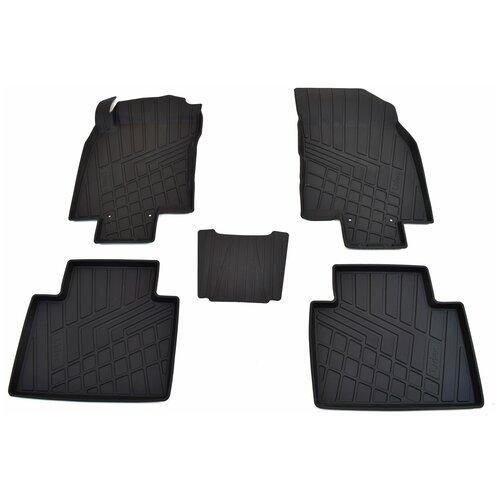 Фото - Комплект ковриков салона NorPlast NP11-LdC-69-250 для Renault Koleos 5 шт. черный комплект ковриков norplast np11 ldc 31 052 hyundai creta 5 шт черный