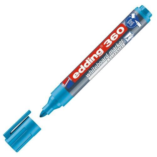 Купить Маркер для досок EDDING 360/10 голубой 1, 5-3 мм 2 штуки, Маркеры