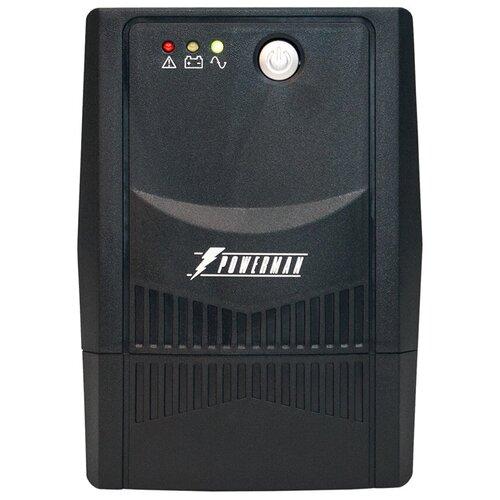 Интерактивный ИБП Powerman Back Pro 600 интерактивный ибп powerman back pro 1000 plus