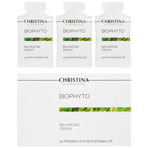 Купить Christina Bio Phyto Balancing Cream sachets kit 3- Балансирующий крем в инд. саше 1, 5 мл х 30 шт