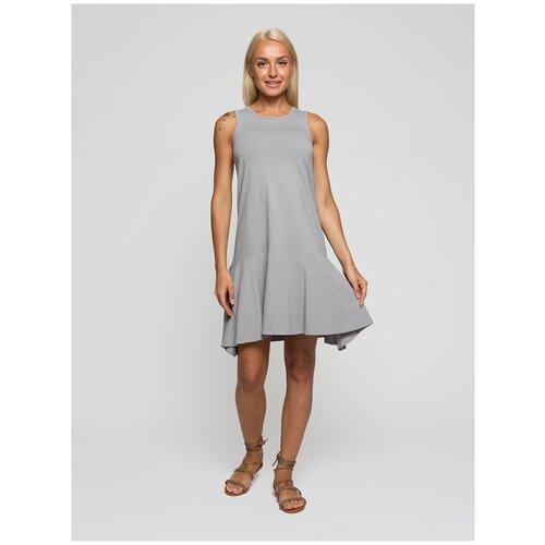 Женское легкое платье сарафан, Lunarable светло-серое, размер 46