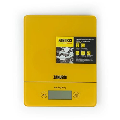 Весы кухонные Zanussi Brescia цифровые ZSE22224CF желтые