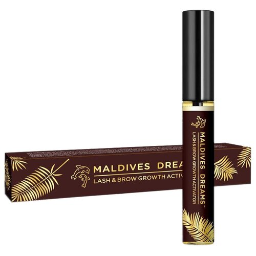 Купить Maldives Dreams Масло для ресниц и бровей Lash&Brow Growth Activator