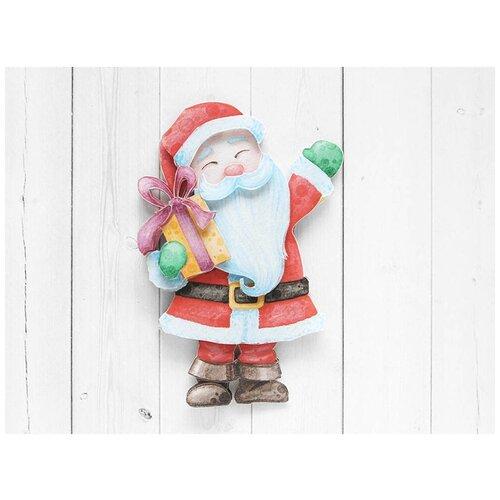 Папертоль «Дедушка Мороз», Paperlove, 8x12 см