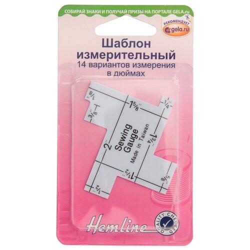 Купить Шаблон измерительный, 14 вариантов измерения в дюймах HEMLINE 1 шт * ( 260 ), Инструменты и аксессуары