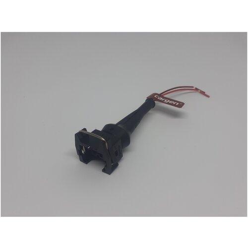 Колодка к датчику детонации ГАЗ к форсунке ВАЗ 2108-15,2110-12,с проводами CARGEN