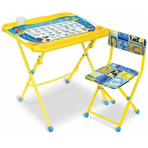 Комплект детской мебели Познайка, возраст 3-7 лет