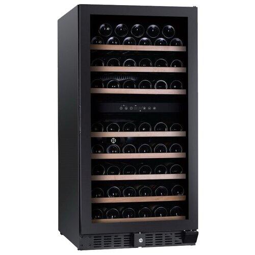 Встраиваемый винный шкаф Dunavox DX-94.270DBK встраиваемый винный шкаф dunavox dx 166 428dbk