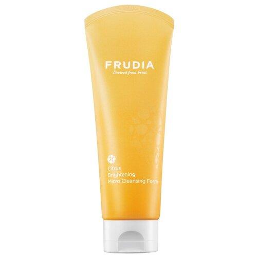 Frudia микропенка для умывания осветляющая с цитрусом, 145 мл frudia микропенка citrus brightening micro cleansing foam для умывания с цитрусом 145г