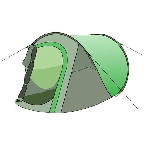 Палатка Totem POP Up 2 V2 зелeный