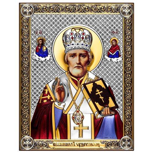 Икона Николай Чудотворец 6421/CP, 14х18 см