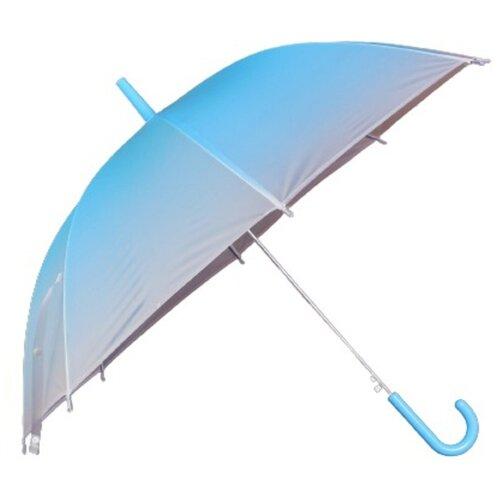 Зонт детский «Омбре», полуавтоматический, r=45см, цвет голубой