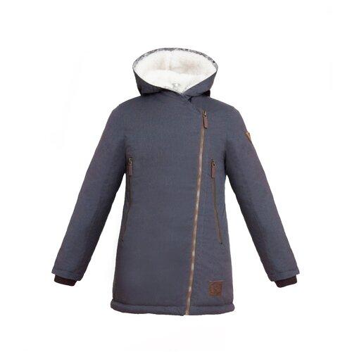 Купить Парка для девочки Talvi 80630, размер 140/68, цвет серый, Куртки и пуховики