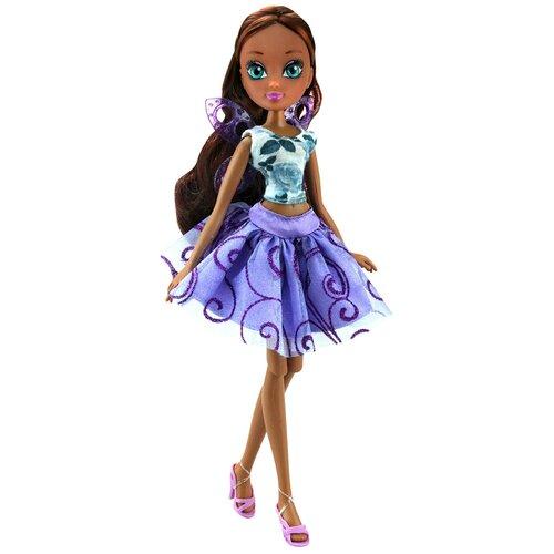 Кукла Winx Club Волшебные крылышки Лейла, 27 см, IW01771905 кукла winx club онирикс лейла iw01611805