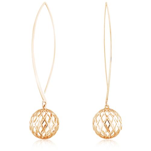 Jeweller Karat Серьги дуги золотые 1029048/3