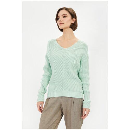 Пуловер Baon в рельефную полоску, размер XXL, light prasem
