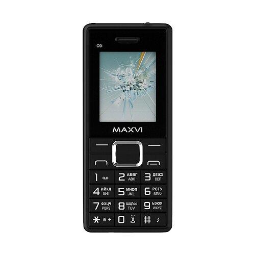Телефон MAXVI C9i черный