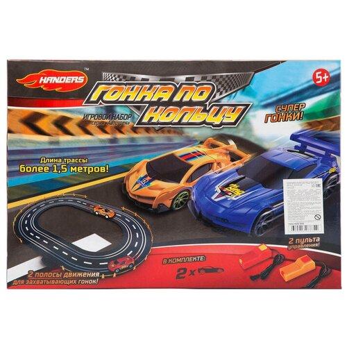 машинки и мотоциклы handers бигфут х2 кантри Трек Handers Автотрек: Гонка по кольцу