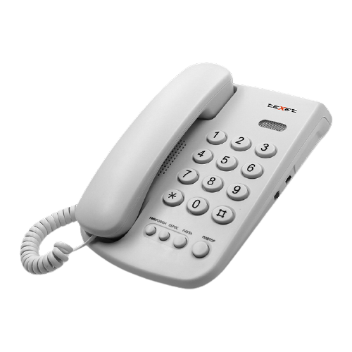 Телефон teXet TX-241 светло-серый