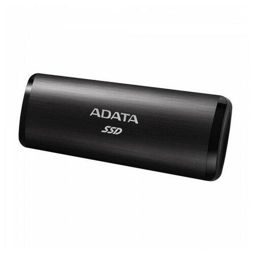 Фото - Внешний SSD ADATA SE760 256 GB, черный внешний ssd adata se800 512 gb синий