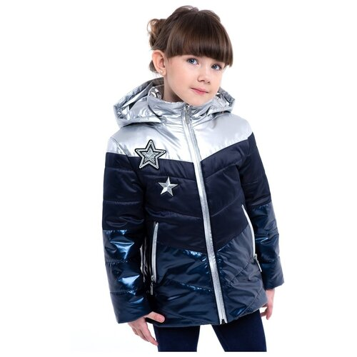 Купить Куртка для девочки Talvi 02410, размер 086/48, цвет синий, Куртки и пуховики