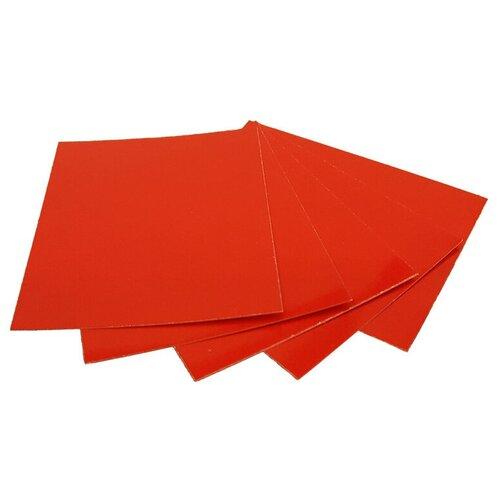 Цветной картон дизайнерский высокоглянцевый односторонний Decoriton, A4, 5 л.