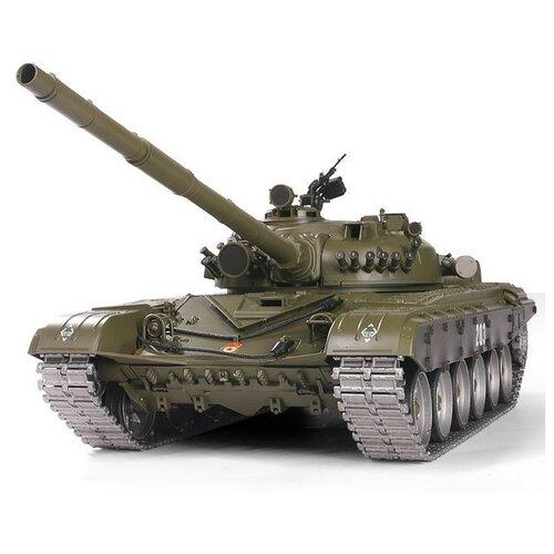 Фото - Радиоуправляемый танк Heng Long T-72 Professional V6.0 2.4G 1/16 RTR радиоуправляемый танк heng long радиоуправляемый мини танковый бой cs toys 9819