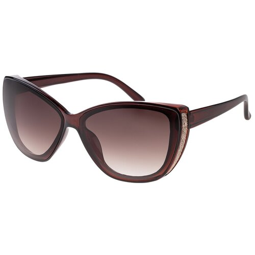 Солнцезащитные очки женские/Очки солнцезащитные женские/Солнечные очки женские/Очки солнечные женские/21kdgara1303915c2vr коричневый/Vittorio Richi/Кошачий глаз/модные