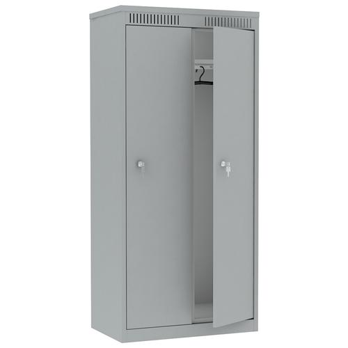 Металлический шкаф для одежды Надежда ШМС-421
