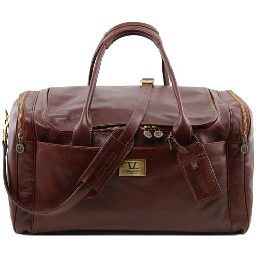 Tuscany Leather Дорожная сумка Tuscany Leather Voyager TL141281 brown