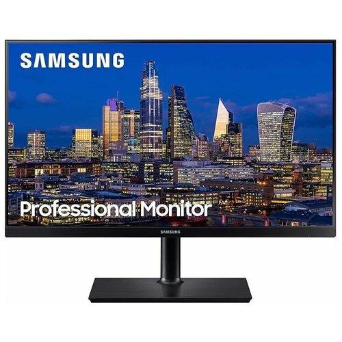 Монитор Samsung F27T850QWI 27, черный монитор samsung c27rg50fqi 27 черный
