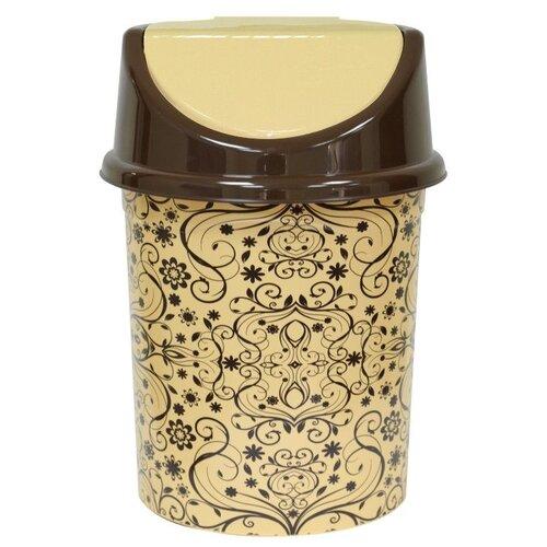 Фото - Контейнер Violet 140870, 8 л бежевый/коричневый контейнер пищевой пластмассовый violet fresco бриз 70025135 0 25 л