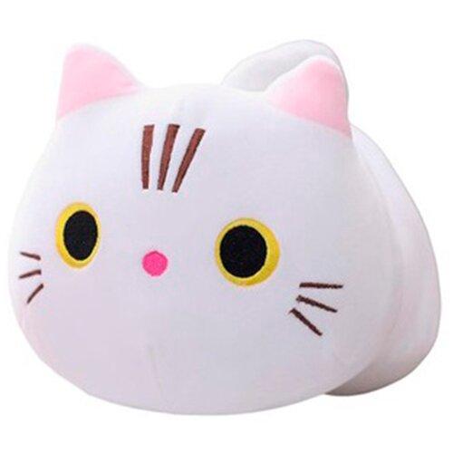 Мягкая игрушка 50см Детская игрушка в подарок / Плюшевая игрушка для детей Cat (Белый)