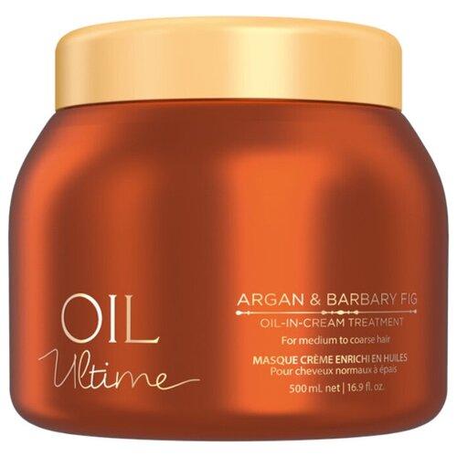 Oil Ultime Маска для жестких и средних волос Oil-in-Cream Treatment, 500 мл недорого