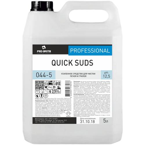 Усиленное средство для чистки грилей и духовых шкафов Quick suds Pro-Brite, 5 л недорого