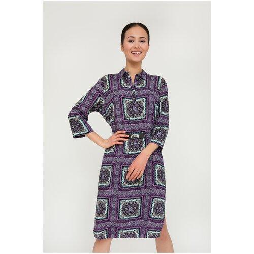 Платье FiNN FLARE. размер 2XL, сиреневый (805)