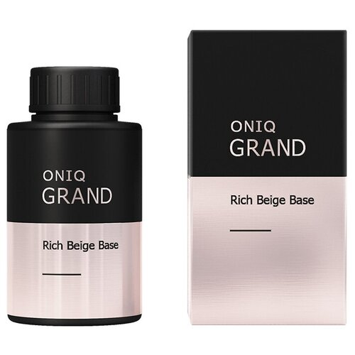 ONIQ базовое покрытие Retouch GRAND Base 30 мл rich beige oniq базовое покрытие grand 900 standart base 30 мл прозрачный