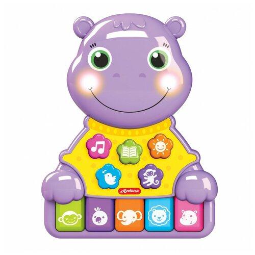 Купить Игрушка Азбукварик Музыкальные зверята Бегемотик 2854, Развивающие игрушки
