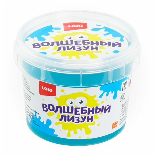 Лизун LORI Волшебный с ароматом тутти-фрутти голубой