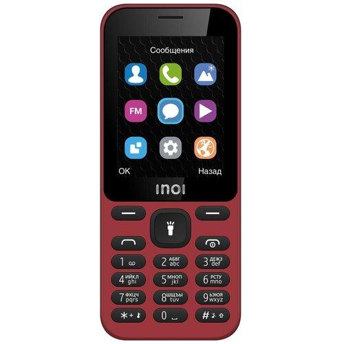 Телефон INOI 239 темно-красный