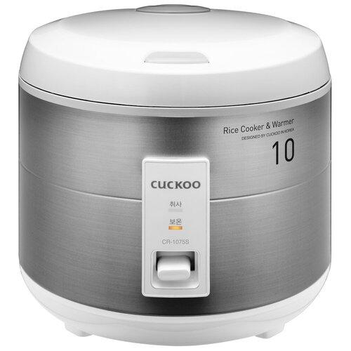 Рисоварка Cuckoo CR-1075S классическая на 10 порций рисоварка cuckoo cr 3521