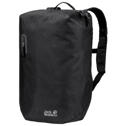 Городской рюкзак Jack Wolfskin Bondi 20, черный трекинговый рюкзак jack wolfskin halo 24 corona lime