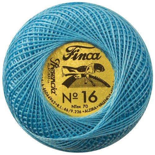 Купить Мулине Finca Perle(Жемчужное), №16, однотонный цвет 3810 71 метр 00008/16/3810, Мулине и нитки для вышивания