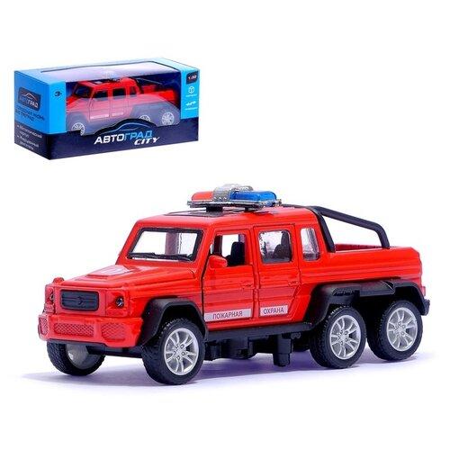 Купить Машина металлическая «Гелик 6X6 спецслужбы», масштаб 1:32, инерция, Автоград, Машинки и техника