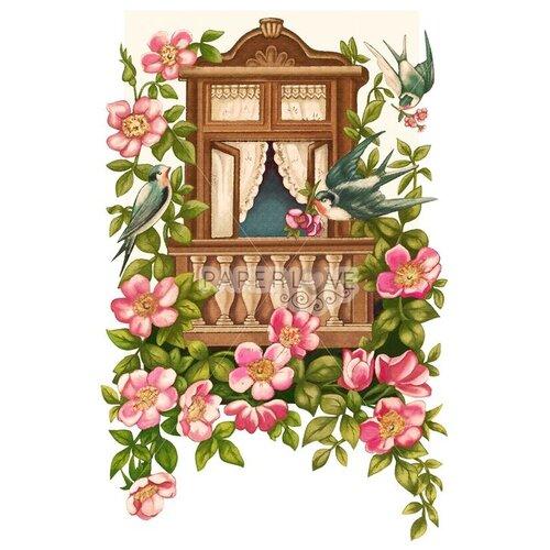 Папертоль «Весенние ласточки», Paperlove, 19x29 см