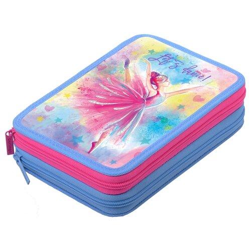 Купить Berlingo Пенал Dancer (PK06331) голубой, Пеналы