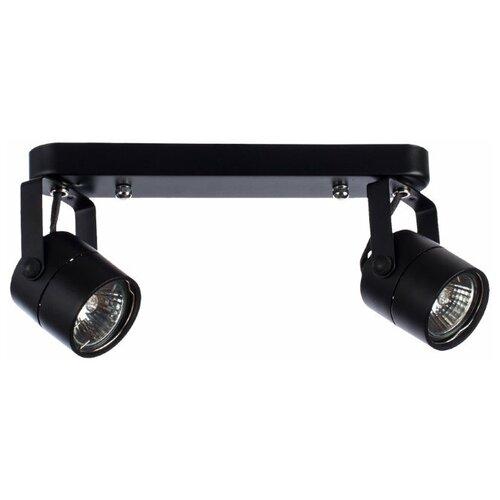 Спот Arte Lamp Lente A1310PL-2BK, 2 лампы недорого