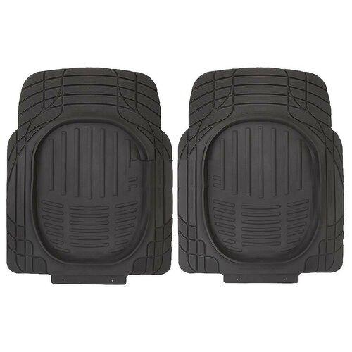 Фото - Комплект ковриков салона AUTOPROFI MAT-001 2 шт. черный комплект ковриков autoprofi pet602 4 шт черный