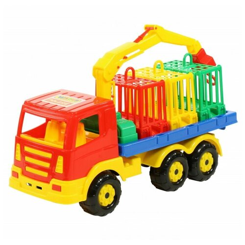 Купить Автомобиль Престиж для перевозки зверей 42х17х25 см., Полесье, Машинки и техника