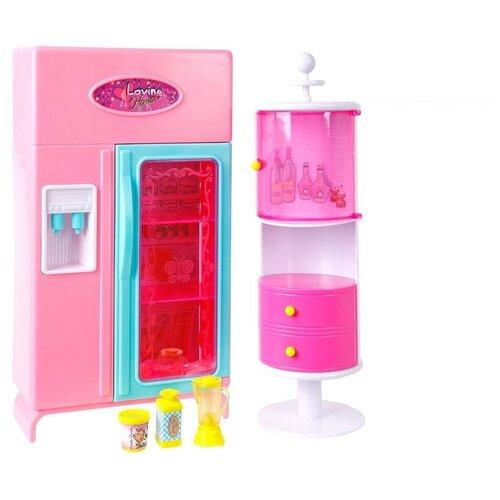 S+S Toys Набор мебели для кухни Уютная квартирка (100459910) розовый